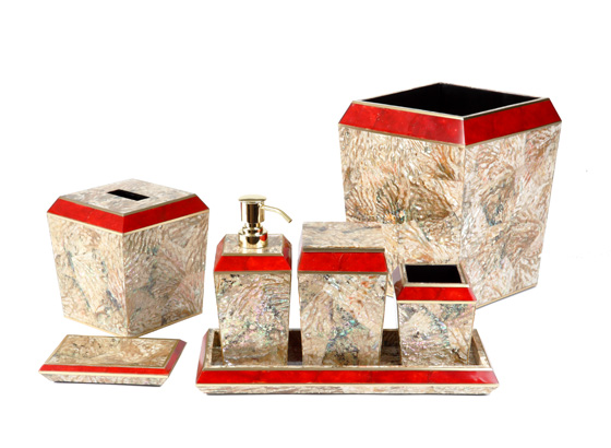 Bath accessories sources unlimited luxury furniture for Luxury bathroom accessories india