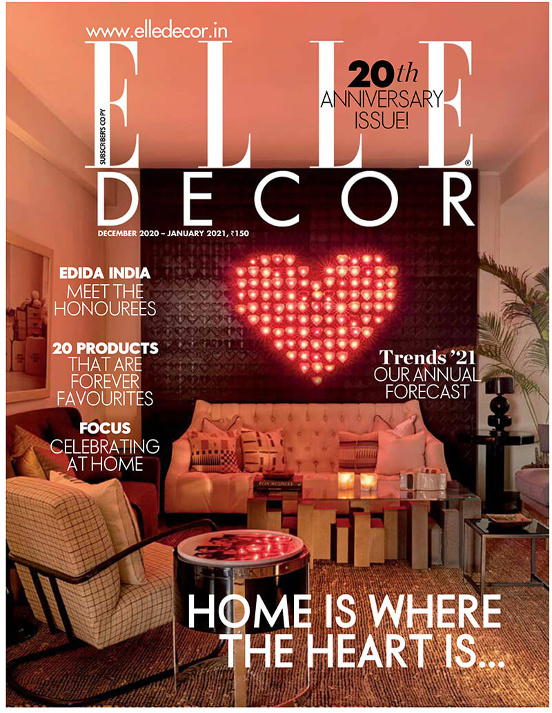 Elle Decor Magazine - January-2